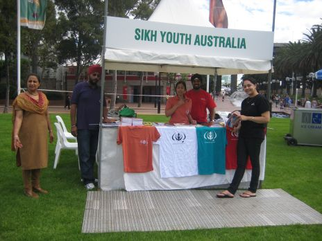 Sikh Youth Australia Harmony Day Stall