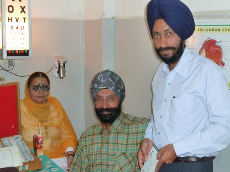 ophthalmologist clinic at baru sahib