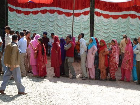 Patients at Baru Sahib free medical camp